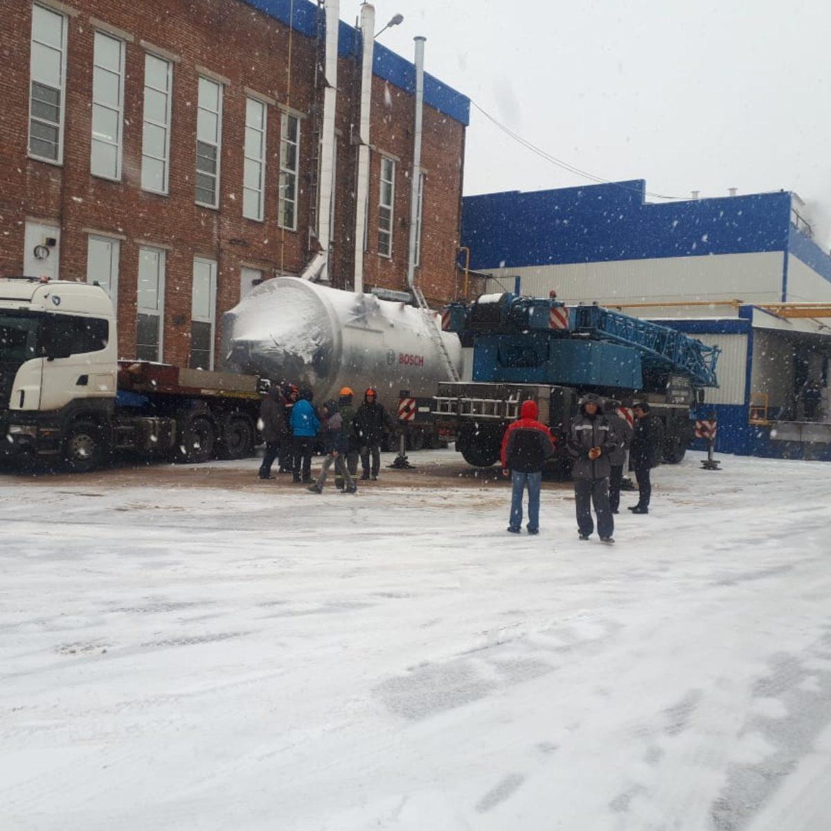 из Италии в СПб привезли 92 тонны